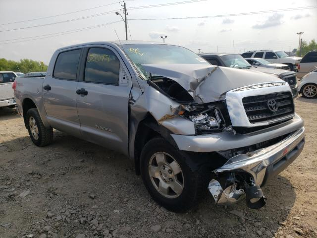 Salvage cars for sale from Copart Indianapolis, IN: 2008 Toyota Tundra CRE