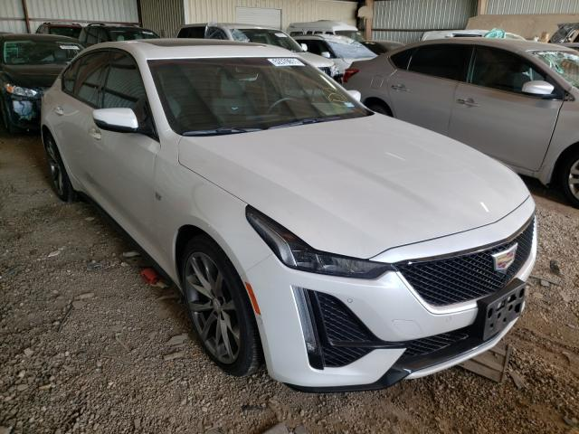 Salvage cars for sale from Copart Houston, TX: 2020 Cadillac CT5 Sport