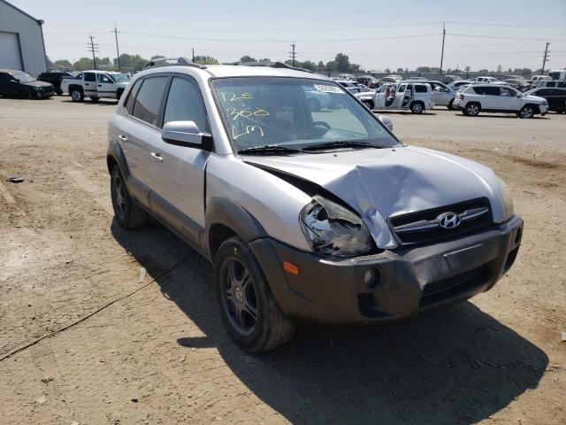 Salvage cars for sale at Nampa, ID auction: 2005 Hyundai Tucson GLS