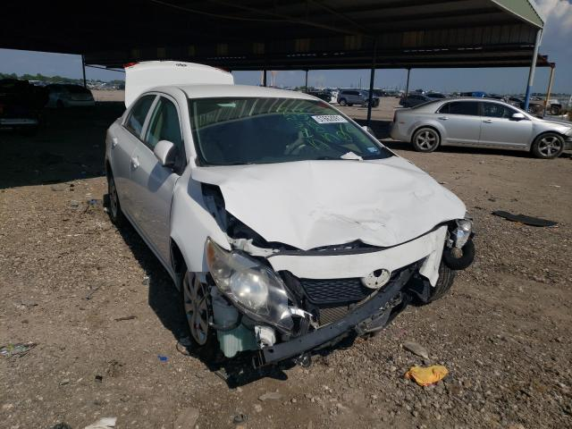 Salvage cars for sale from Copart Houston, TX: 2010 Toyota Corolla BA