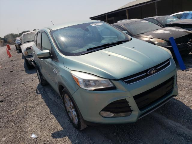 Salvage cars for sale from Copart Madisonville, TN: 2013 Ford Escape SEL