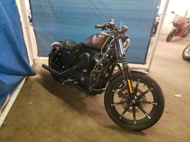 Salvage cars for sale from Copart Hillsborough, NJ: 2019 Harley-Davidson XL883 N