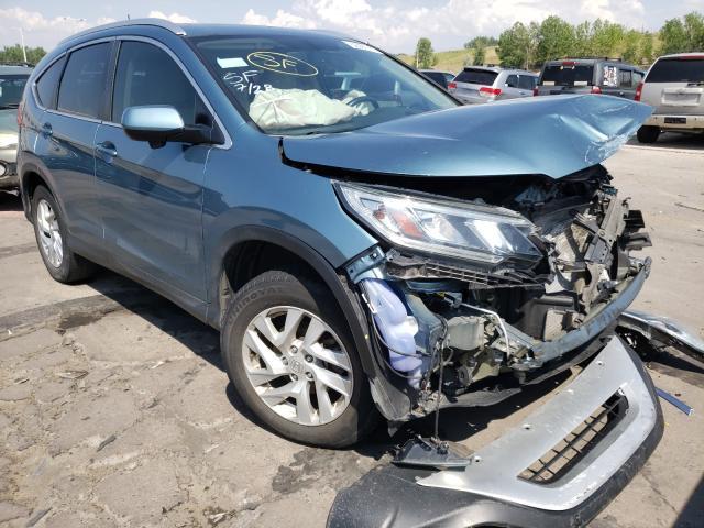 Honda salvage cars for sale: 2015 Honda CR-V EXL
