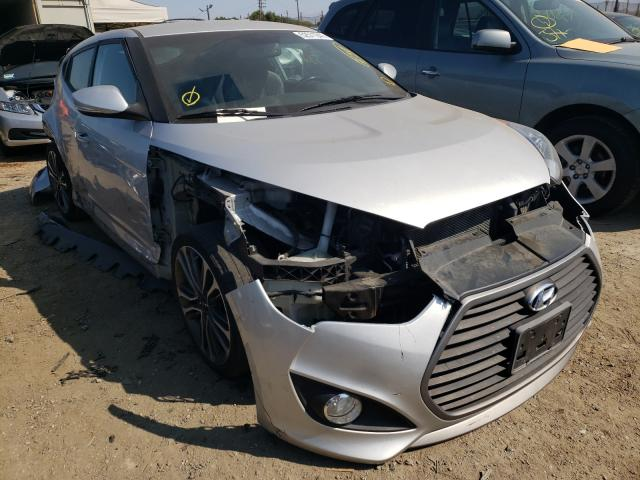 Salvage cars for sale from Copart San Martin, CA: 2016 Hyundai Veloster T