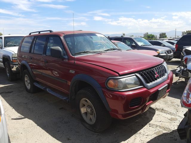 Salvage cars for sale from Copart Colton, CA: 2002 Mitsubishi Montero SP