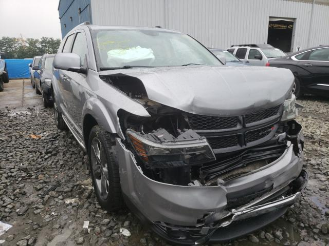 Salvage cars for sale from Copart York Haven, PA: 2018 Dodge Journey CR
