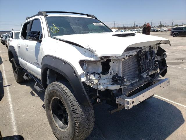 Salvage cars for sale from Copart Sun Valley, CA: 2017 Toyota Tacoma DOU
