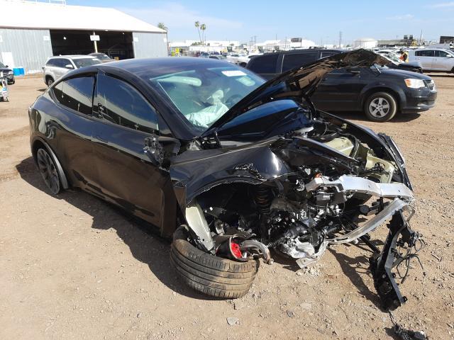 Salvage cars for sale at Phoenix, AZ auction: 2021 Tesla Model Y