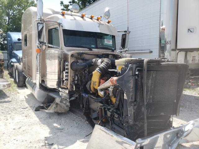 Salvage trucks for sale at Rogersville, MO auction: 2017 Peterbilt Tractor
