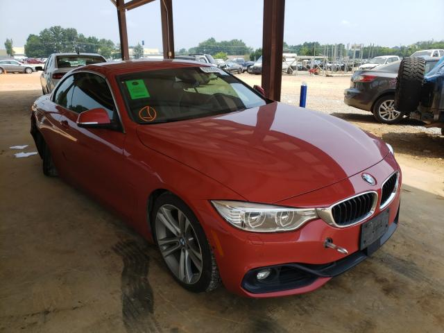 BMW 428 I Sulev salvage cars for sale: 2016 BMW 428 I Sulev