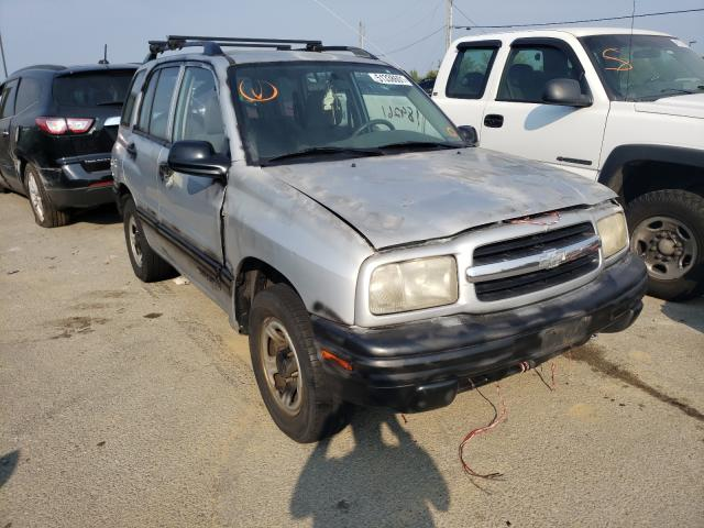 Chevrolet Tracker salvage cars for sale: 1999 Chevrolet Tracker