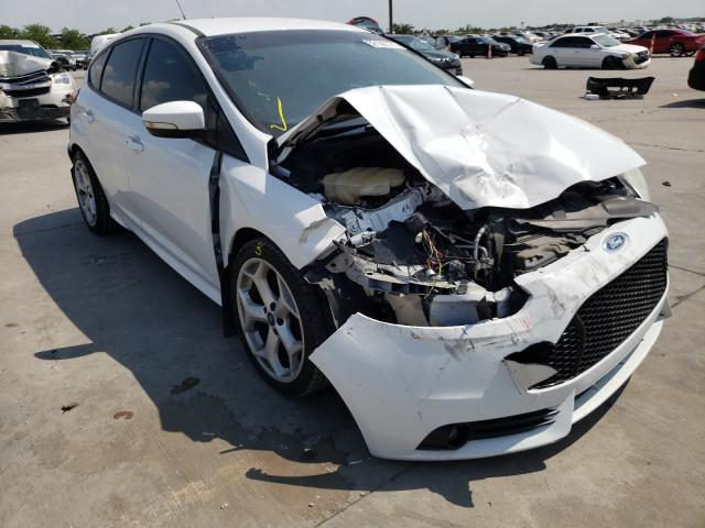 Salvage cars for sale from Copart Grand Prairie, TX: 2014 Ford Focus ST