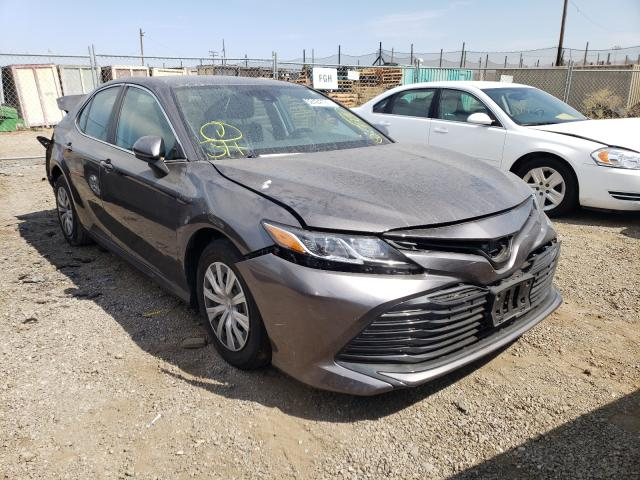 Salvage cars for sale from Copart San Martin, CA: 2020 Toyota Camry LE