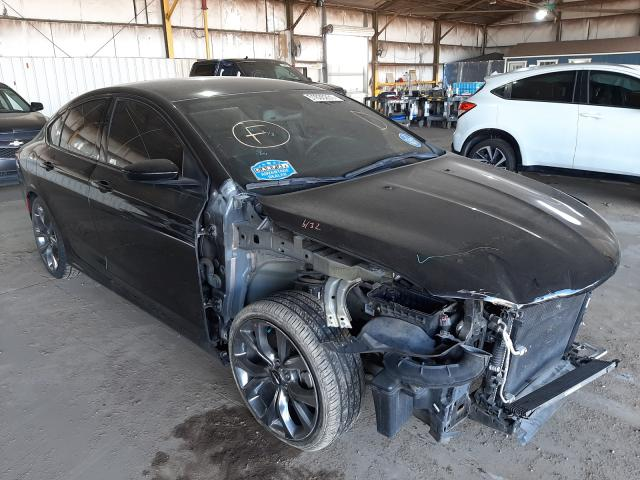 Salvage cars for sale from Copart Phoenix, AZ: 2016 Chrysler 200 S