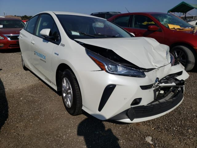 Salvage cars for sale from Copart San Martin, CA: 2020 Toyota Prius L