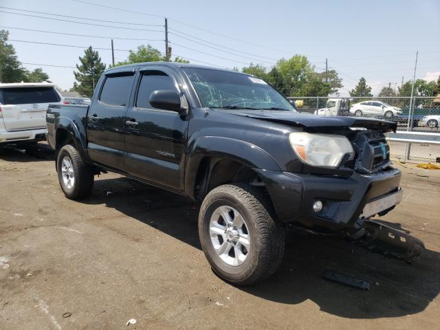 Salvage cars for sale from Copart Denver, CO: 2013 Toyota Tacoma DOU