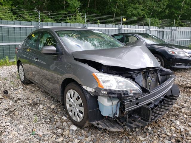 Nissan Vehiculos salvage en venta: 2015 Nissan Sentra S