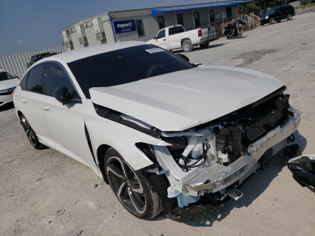 Salvage cars for sale at Prairie Grove, AR auction: 2021 Honda Accord Sport