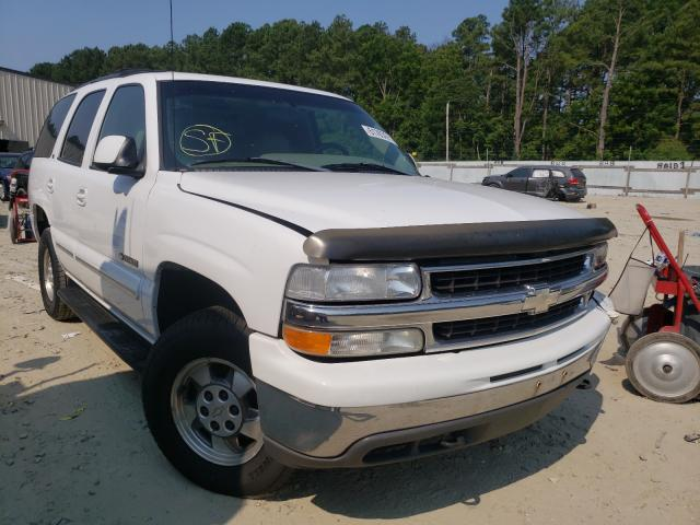 Chevrolet salvage cars for sale: 2001 Chevrolet Tahoe K150