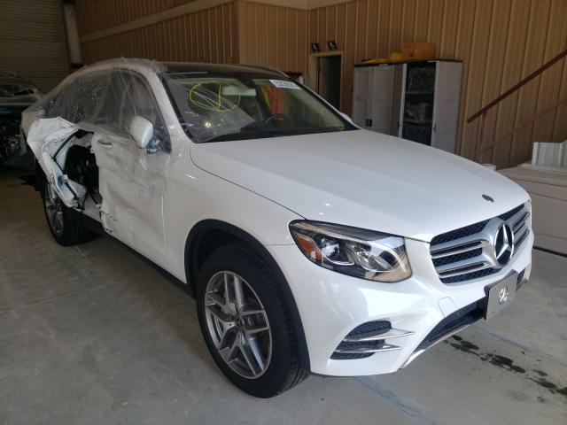 Salvage cars for sale from Copart Gainesville, GA: 2017 Mercedes-Benz GLC 300 4M