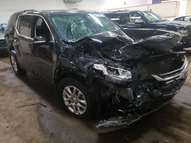 Salvage cars for sale from Copart Davison, MI: 2019 Chevrolet Traverse L