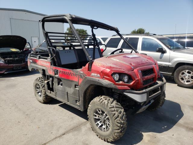 Salvage cars for sale from Copart Sacramento, CA: 2020 Kawasaki KAF820 K
