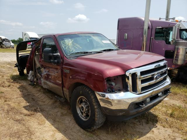 Salvage cars for sale from Copart Sikeston, MO: 2004 Ford F250 Super