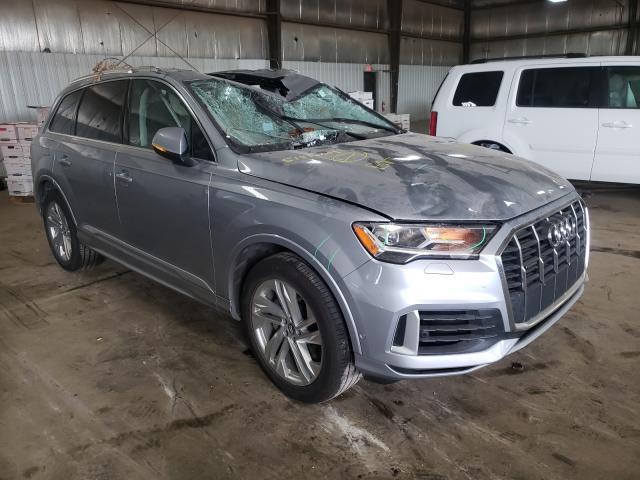 Salvage cars for sale from Copart Des Moines, IA: 2020 Audi Q7 Premium