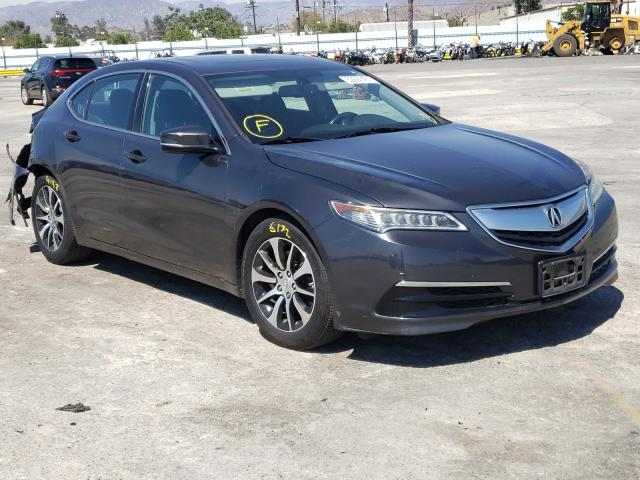 Acura salvage cars for sale: 2016 Acura TLX