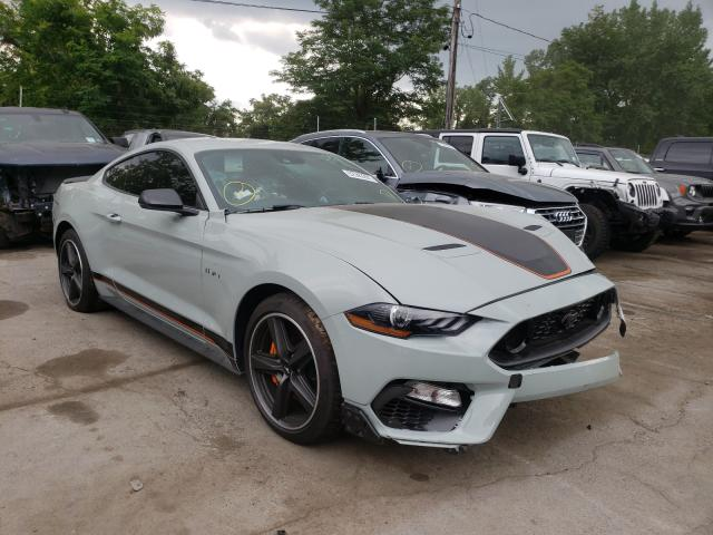 Salvage cars for sale from Copart Marlboro, NY: 2021 Ford Mustang MA