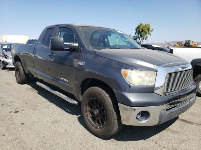 Salvage cars for sale from Copart Martinez, CA: 2007 Toyota Tundra DOU