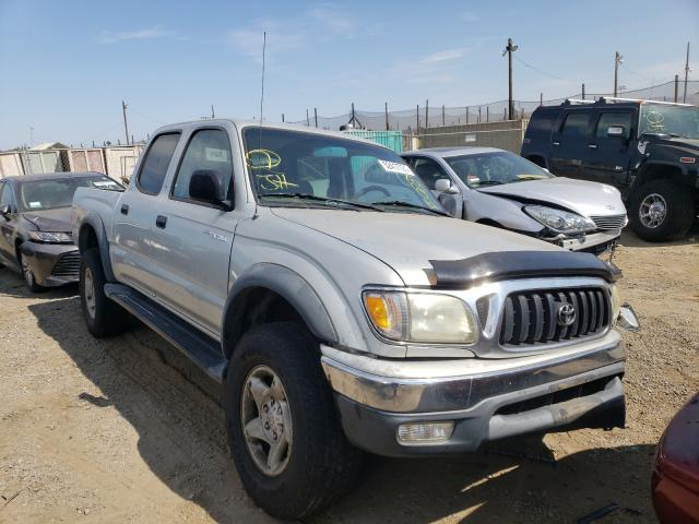 Salvage cars for sale from Copart San Martin, CA: 2003 Toyota Tacoma DOU