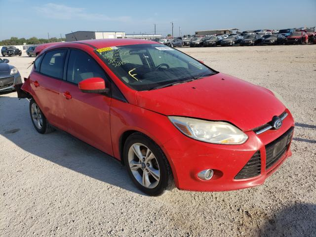 Salvage cars for sale from Copart San Antonio, TX: 2012 Ford Focus SE