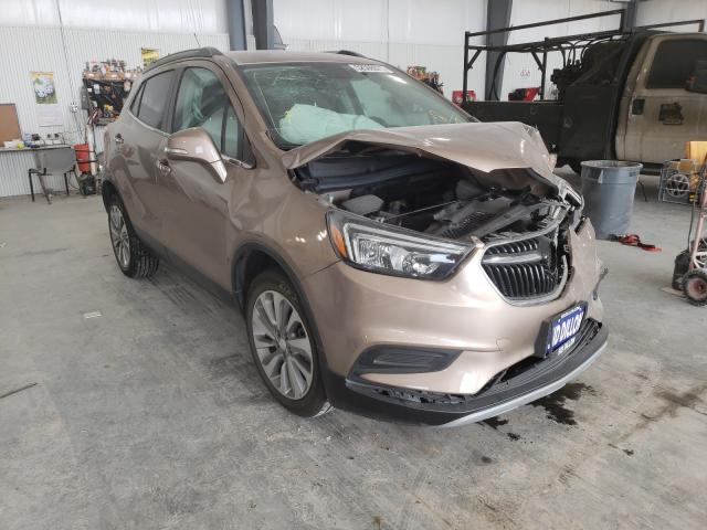 Salvage cars for sale from Copart Greenwood, NE: 2018 Buick Encore PRE