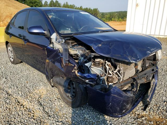 Salvage cars for sale from Copart Concord, NC: 2009 Hyundai Elantra GL
