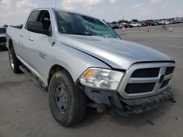 Salvage trucks for sale at Grand Prairie, TX auction: 2015 Dodge RAM 1500 SLT