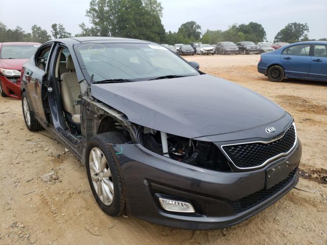 Salvage cars for sale from Copart China Grove, NC: 2015 KIA Optima EX