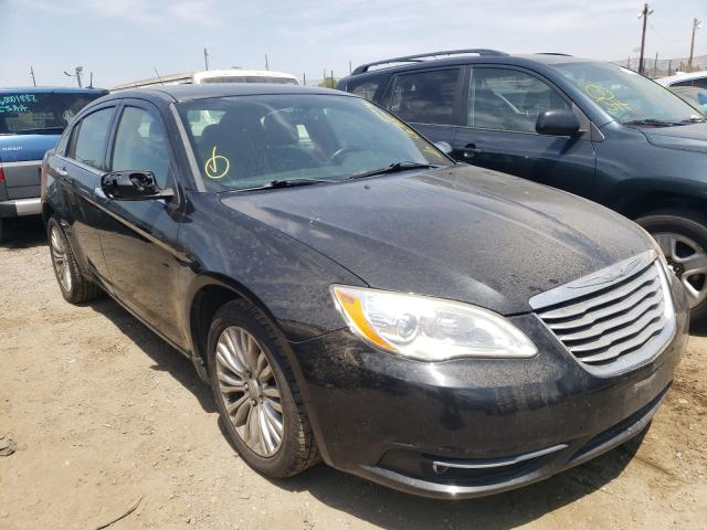 Salvage cars for sale from Copart San Martin, CA: 2011 Chrysler 200 Limited