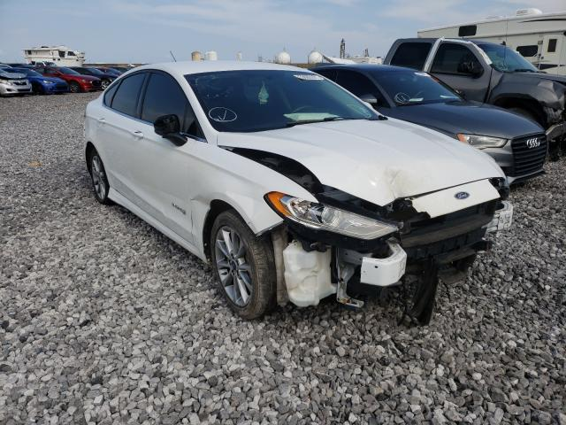 Salvage cars for sale from Copart New Orleans, LA: 2017 Ford Fusion SE