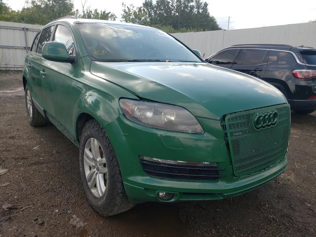 Audi Vehiculos salvage en venta: 2009 Audi Q7 3.6 Quattro