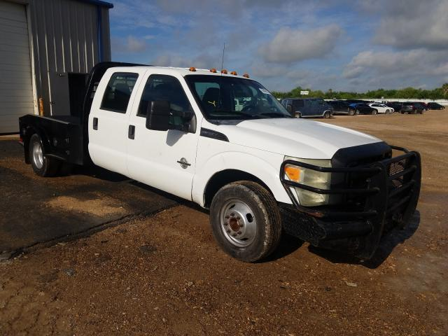 Salvage cars for sale from Copart Mercedes, TX: 2011 Ford F350 Super