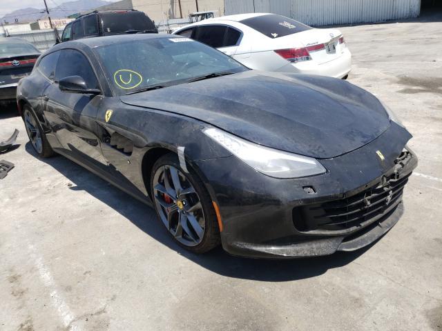 Ferrari salvage cars for sale: 2018 Ferrari GTC 4 Luss