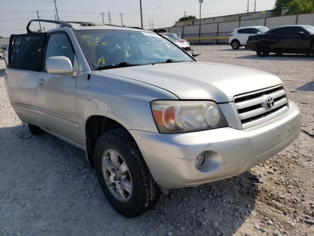 Salvage cars for sale from Copart Haslet, TX: 2005 Toyota Highlander