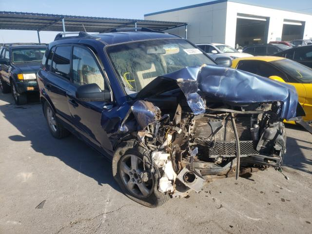 Salvage cars for sale from Copart Anthony, TX: 2008 Hyundai Tucson GLS