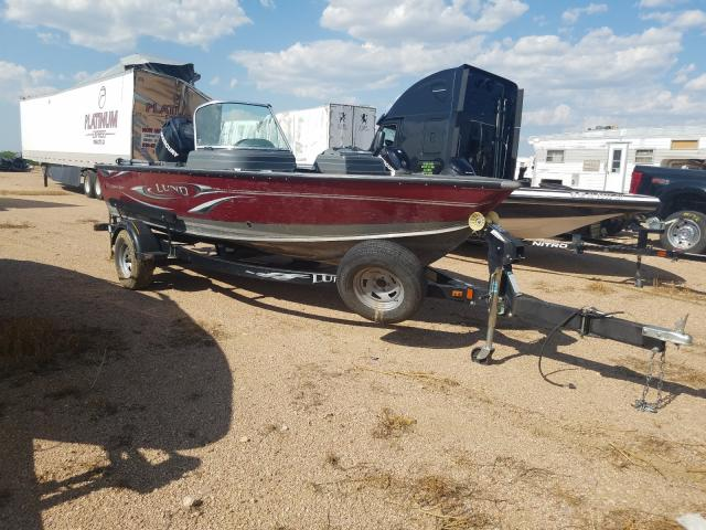 Lund salvage cars for sale: 2010 Lund Boat