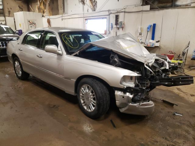 Salvage cars for sale from Copart Casper, WY: 2008 Lincoln Town Car S