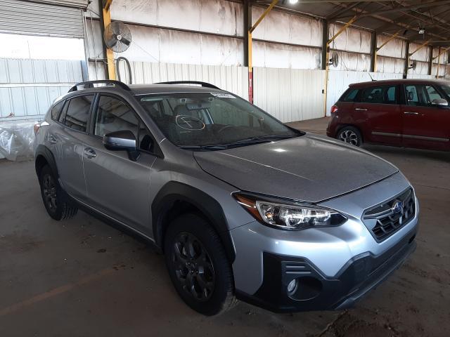 Subaru salvage cars for sale: 2021 Subaru Crosstrek