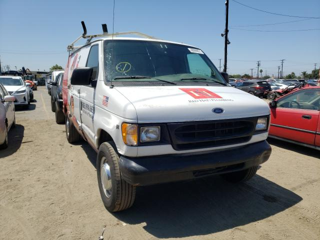 Salvage cars for sale from Copart Los Angeles, CA: 2002 Ford Econoline
