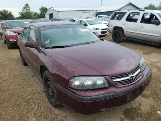 Salvage cars for sale from Copart Pekin, IL: 2003 Chevrolet Impala