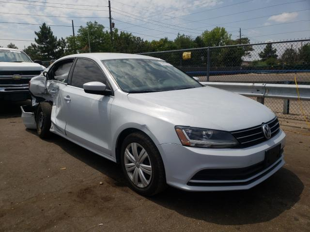 Salvage cars for sale from Copart Denver, CO: 2017 Volkswagen Jetta S